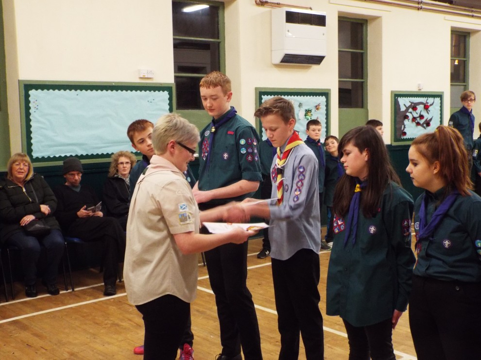 2016-01-11 Chief Scout Award