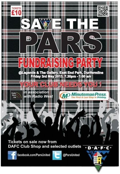 Fundraising Party 3rd may at Legends.